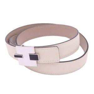 HERMES Square R (2014) Eileen 24mm Belt Size: 75 C
